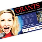 Grants plasma screens advert